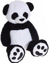 Grote pluche panda knuffel beer van 100 cm - knuffeldier - knuffelbeest