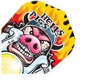 Harrows darts Quadro 2000 hells pigs