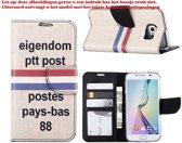 Xssive Hoesje voor Apple iPhone 7 Plus - Bookcase - PTT Post