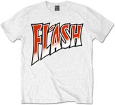 Queen - Flash Gordon heren unisex T-shirt wit - XL