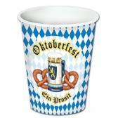 Oktoberfest bekers 8 stuks