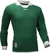 Avento Sportshirt Lange Mouw Senior Groen/wit Maat Xl/xxl