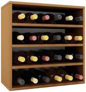 Wijnkast wijnrek Weino IV modulair samen te stellen beuken