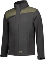 Tricorp Softshell 402021 bicolor d.grey/army M