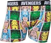 Avengers Characters - Heren Boxer - Boxershort