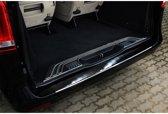 Avisa Zwart RVS Achterbumperprotector Mercedes Vito / V-Klasse 2014- 'Ribs'