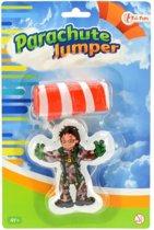 Toi-toys Parachute Jumper Groen 9.5 Cm