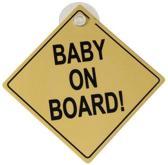 Babsana Baby on Board - Geel