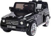 Elektrische Kinder Accu Auto Mercedes-Benz G55 Zwart met afstandsbediening