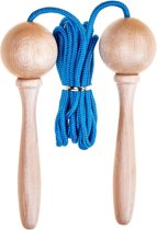 Skipping rope - (3m) adjustable - Blue