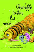 Giraffe Twists His Neck