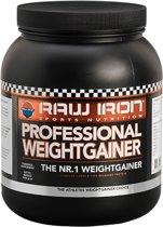 RAW IRON Weightgainer-2,5kg-aardbei