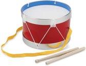 New Classic Toys - Trommel -  Ø 22 cm - Rood