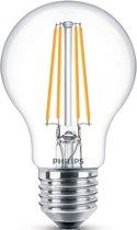 LED lamp E27 7W 860Lm peer filament 2 stuks