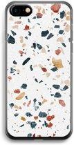 iPhone 7 Transparant Hoesje (Soft) - Terrazzo N°4