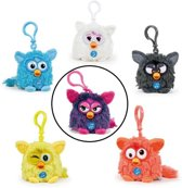 Furby Sleutelhanger paars - 8 cm
