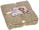 Nobby - Hondendeken - Fleece - Beige - 60 x 85 CM
