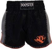 Booster Short TBT Pro 4.28 Zwart/Oranje Medium