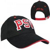 PSV Cap - College Letters - Senior - Zwart