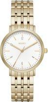 DKNY Goudkleurig Vrouwen Horloge NY2503