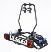 Hapro Atlas Blue Fietsendrager - 2 Fietsen -  Trekhaak - 7 Polig - Kantelbaar