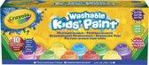 Crayola uitwasbare Verf Special - 10 potjes