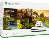 Xbox One S console 1 TB + Minecraft Holiday