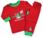 Baby Pyjama Rood - Goooall N.E.C. Nijmegen-Maat-62/68-Kleur-Rood