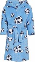 Blauwe badjas voetbal voor jongens 146/152 (11-12 jr)