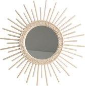 One World Interiors Spiegel - Sun - Zon - 60cm - Rotan