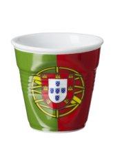 Revol Froisses Espresso Kreukbeker - 0.08 l - Vlag Portugal