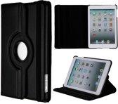 Casify - Zwart 360 Graden Rotatie Faux Leren Flip Cover Hoes - iPad Mini / 2 / 3