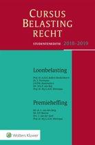 Cursus Belastingrecht 2018-2019
