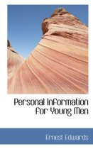 Personal Information for Young Men
