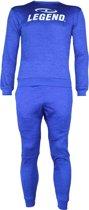 Joggingpak / sweater  van de hoogste kwaliteit Blauw  XXL