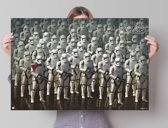 STAR WARS EPISODE VII THE FORCE AWAKENS stormtroopers  - Poster 91.5 x 61 cm