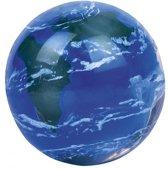 Moses Stuiterbal Wereldbol 4,5 Cm Blauw