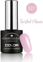 Cosmetics Zone UV/LED Hybrid Gel Nagellak 7ml. Twisted Flower 327