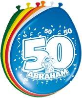 Ballonnen 50 jaar Abraham