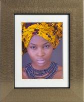Africa 15x20 Fotolijst - goud