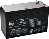 AJC® battery compatibel met Union Battery 12V 7Ah Lood zuur accu