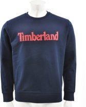 Timberland - Heren Sweaters Linear Logo Sweat - Blauw - Maat L