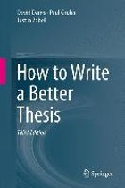 How to Write a Better Thesis