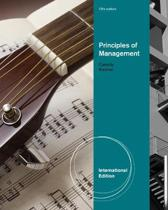 Principles of Management, International Edition