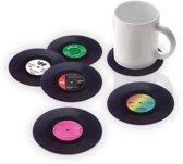 Vinyl onderzetters x6