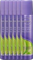 Andrélon Verrassend Volume - 6 x 245 ml - Droogshampoo - Voordeelverpakking
