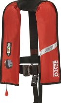 BESTO INFLATABLE PRO JUNIOR opblaasbaar reddingsvest 100N / Pro junior rood - zwemvest