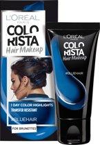 L'Oréal Paris Colorista Hair Makeup - Blue - 1 Dag Haarkleuring