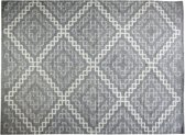 Home Delight Diamond - Vloerkleed - 160x220cm - Grijs