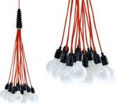 Leitmotiv Hanglamp Bundle Light - Red
